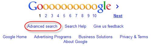آموزش تصویری جستجوی پیشرفته (Advance Search) گوگل